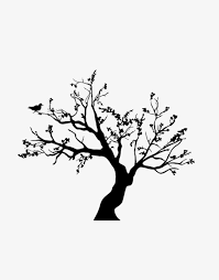 Winter Trees Png Clipart Birds Black Simple Tree Trees Clipart