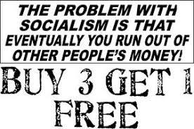 "ANTI-SOCIALISM BUMPER STICKER Problem with Socialism Peoples Money 8.7"" x  3"" | eBay"