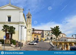 The Old Town Of Capriati A Volturno In The Province Of Caserta, Italy.  Stock Photo - Image of street, alley: 166212942