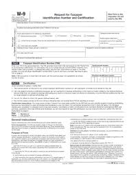 free printable w9 form blank w 9 form in word format forest jovenesambientecas co