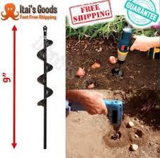 garden auger drill bit. Image Is Loading Yard-Hole-Digger-Garden-Plant-Bulbs-Drilling-Shovel- Garden Auger Drill Bit D