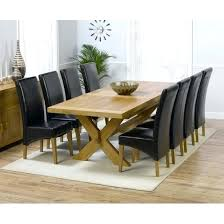 dining table 8 chairs wooden dining tables and 8 chairs furnitureinfashion uk 8 seat intended for dining table 8 chairs