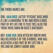 NewBabyName3: NEW BABY NAMES FOR TWINS AND THEIR MEANINGS