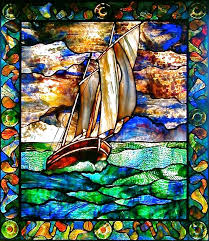 works of art in stained glass