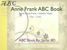 Anne Frank Abc Book