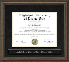 polytechnic university of puerto rico poly diploma frame wordyisms polytechnic university of puerto rico poly diploma frame