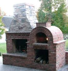 fireplace pizza oven insert interior