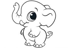 Small Picture Elephant Coloring Pages Page 2 of 2 Coloring4Freecom