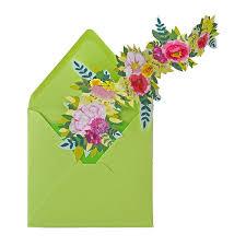 Une Carte Dinvitation Comme Une Guirlande De Fleurs Marie Claire