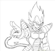 Vegeta Coloring Pages Dragon Ball Z Coloring Pages Interesting Super