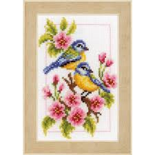 Vervaco Cross Stitch Charts Vervaco Four Seasons Cross Stitch Kit 4 Pack Punto De Cruz