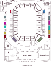 Temple Liacouras Center Seating Chart Offering Philadelphia Original Concessions Along With The