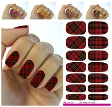 Decorative Nail Art Designs 100 Fashion nail stickers plant color nail art design water 32