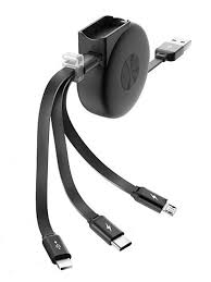 <b>Аксессуар Olmio Slide</b> USB 2 0 MicroUSB Lightning Type C 2 1A ...