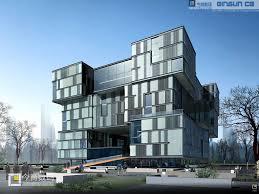 architectural buildings. Modern Architectural Buildings With Architecture Design Interior E