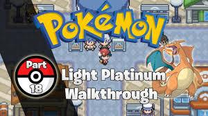 Super Rod Light Platinum Pokemon Light Platinum Walkthrough Part 18 Seanport City