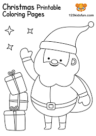 21 free printable christmas coloring pages for adults & children. Free Christmas Printable 123 Kids Fun Apps