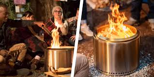 this high tech solo stove bonfire is on for 100 off