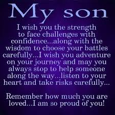 To My Son Quotes Extraordinary To My Son Pictures Photos And Images For Facebook Tumblr