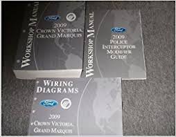 2009 ford crown victoria shop repair service manual set (service 2008 crown vic wiring diagram flip to back flip to front