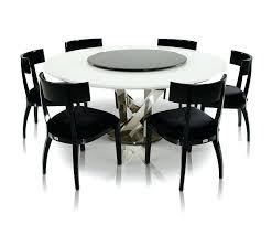 dining tables round dining table for 6 with lazy susan used room set modern round dining