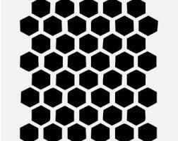 Beehive Pattern Best Beehive Painting Etsy