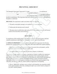 Marriage Contract Template Absolute Sample 1 Word – Pitikih