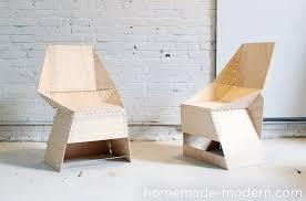 modern diy furniture. Introduction: HomeMade Modern DIY The ZipStich Chair Diy Furniture F