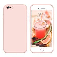 Light Pink Iphone 6 Plus Case Yinlai Iphone 6s Plus Case Slim Fit Iphone 6 Plus Case Silicone Pink Non Slip Grip Soft Gel Rubber Cover Drop Protection Shockproof Protective
