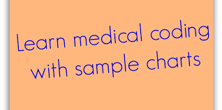 Medical Coding Practice Charts Medical Coding Examples Or Sample Charts For Coders