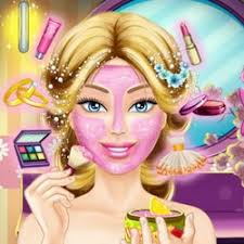 wedding help barbie to prepare her wedding make up