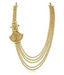 ball chain necklace. apara golden ball chain necklace set