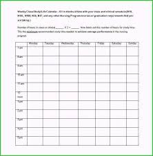 Schedule Maker For College School Schedule Maker Template Admirable Figure College Class