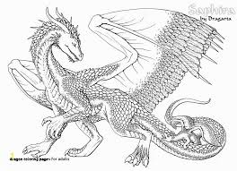 Realistic Dragon Coloring Pages Zabelyesayancom