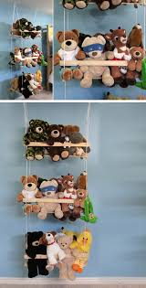 diy hanging toy storage 32 diy storage ideas for small spaces diy organization ideas