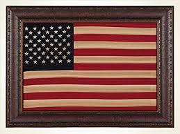 antique cloth american flag framed wall art d cor on antique cloth wall art with amazon antique cloth american flag framed wall art d cor