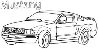 ford mustang coloring pages printable mustang coloring pages for kids 65 ford mustang coloring pages