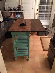 DIY IKEA FRHJA kitchen cart hack (via https:)