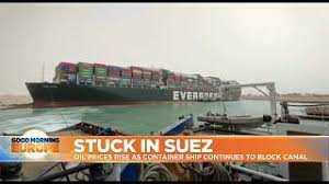 Suez Canal: Owner of wedged container ship apologises | Euronews