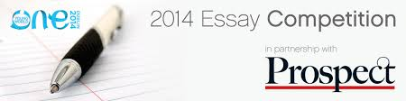 essay competition in partnership prospect magazine one  2014 essay competition in partnership prospect magazine