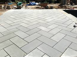 blue stone for patio thermal patio in herringbone bluestone patio tiles flagstone patio cost per square foot