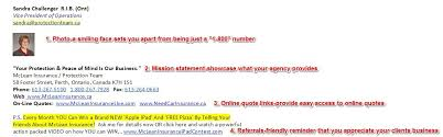 Insurance Agency Marketing Leveraging Your Email Signature Cool Email Signature Quotes