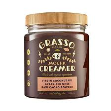 Whether its coffee, tea, protein, or greens, life demands more out of us now: Grasso Mocha Creamer Previously Coffee Booster The Original High Fat Coffee Creamer Keto Friendly Coconut Oil Ghee Cacao Powder Amazon Com Grocery Gourmet Food