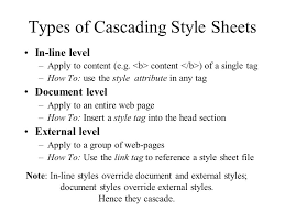 cascade style sheet cascading style sheets css why do we need them separate structure