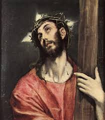 beautiful original hand painted christ carrying the cross in your home painting based on the master s works of unknown artist