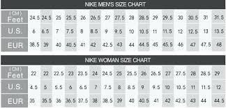 Converse Size Chart Men