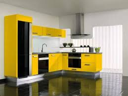 Yellow Kitchen Ideas With Black Decor and DIY Hanging Lamps
