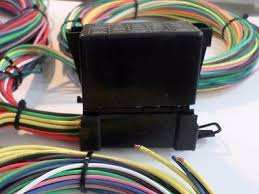 21 circuit ez wiring harness mini fuse chevy ford hotrods universal 21 circuit ez wiring harness mini fuse chevy ford hotrods universal x long wires