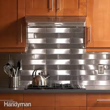 kitchen backsplash stainless steel tiles: stainless steel kitchen backsplash fhdja stebac jpg stainless steel kitchen backsplash