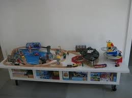 Inspiring Train Table With Storage Ikea Images Design Ideas